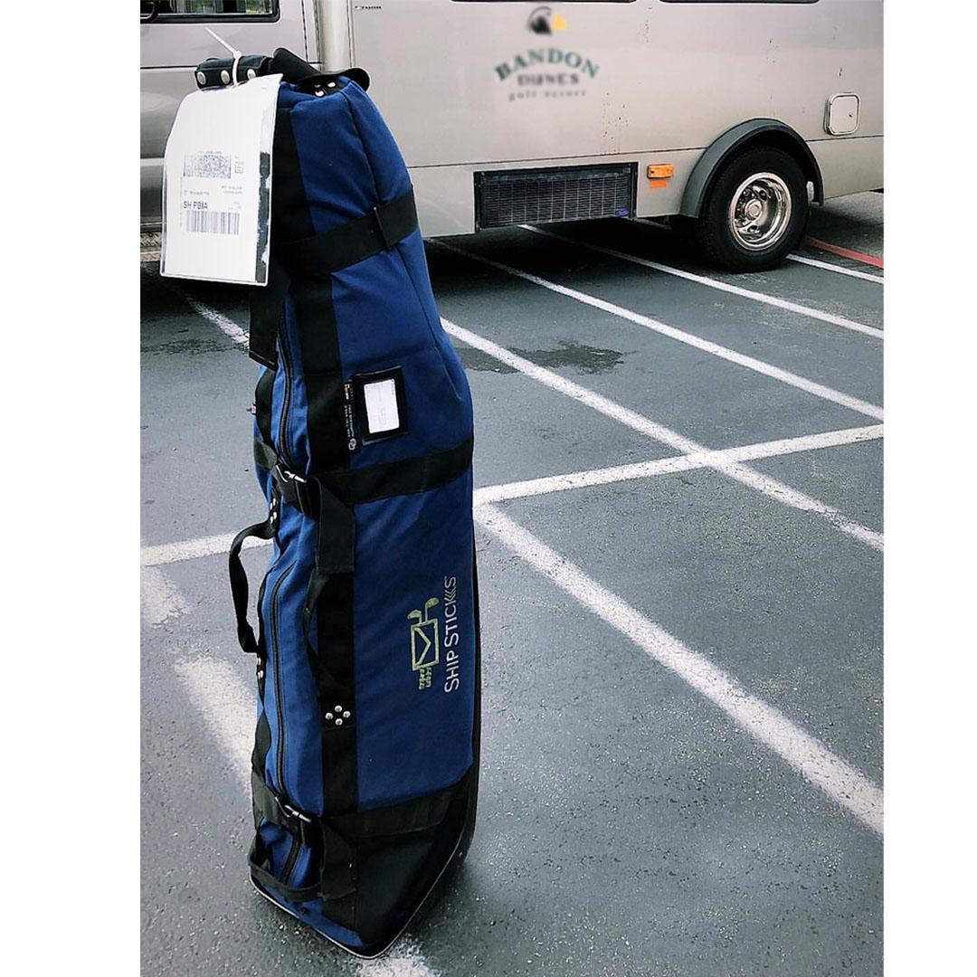 Using A Luggage Tag